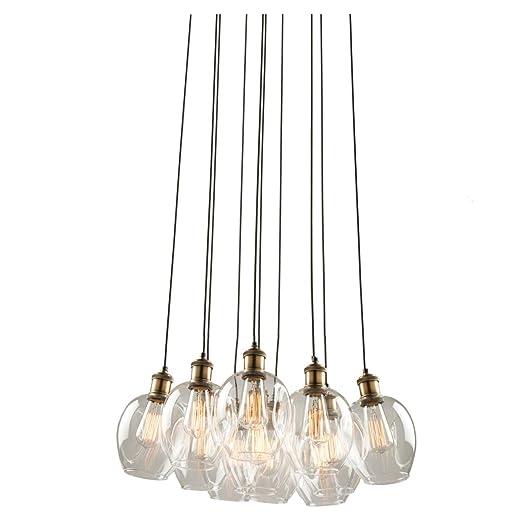 Amazon.com: Chandeliers - Lámpara de techo (10 unidades ...