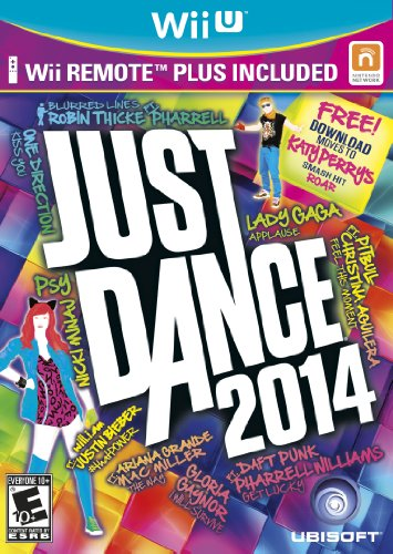 Just Dance 2014 Bundle with Wii Remote Plus - Wii Games Just Dance Bundle