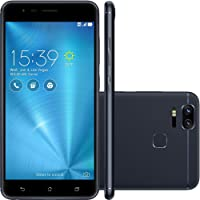 Smartphone Asus Zenfone 3 Zoom 64Gb Dual Chip 4G 5.5'' Dupla Câmera 12Mp Selfie 13Mp Android 6 Preto