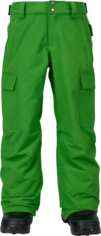 Burton Boys' Exile Cargo Snow Pant, Slime W17, X-Large