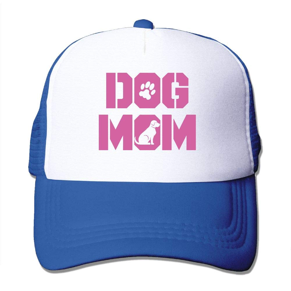 JimHappy Dog Mom Baseball Hat CapAdjustable Back Mesh Cap Men Women