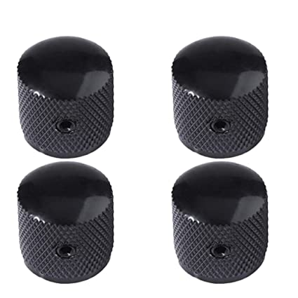 Wrench ZP 4pcs Metal Electric Bass Guitar Volume Tone Control Knobs Dome Knobs