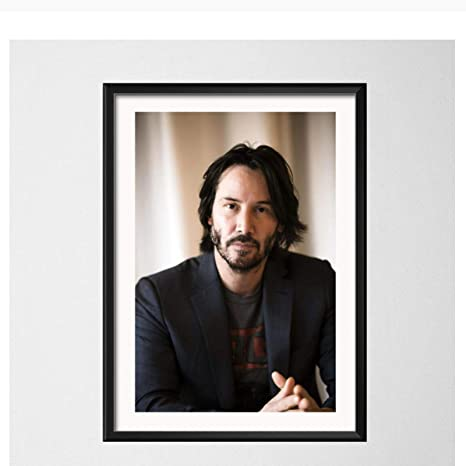 Amazon Com Caohd Keanu Reeves Hot Movie Star Actor John Wick The Matrix Art Canvas Painting Poster Wall Home Decor Quadro Cuadros 50x70cm No Frame Posters Prints