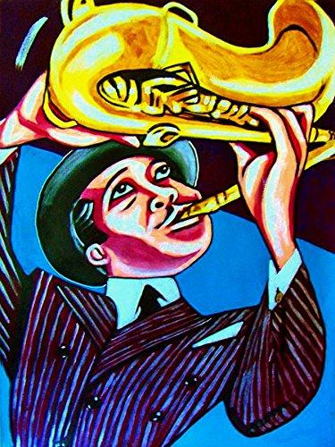 LESTER YOUNG PRINT POSTER cd lp record album vinyl Sax saxophone billie holiday kansas city sessions
