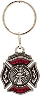 product image for DANFORTH - Rescue Keyring - Pewter - Key Fob - Handcrafted - Made in USA