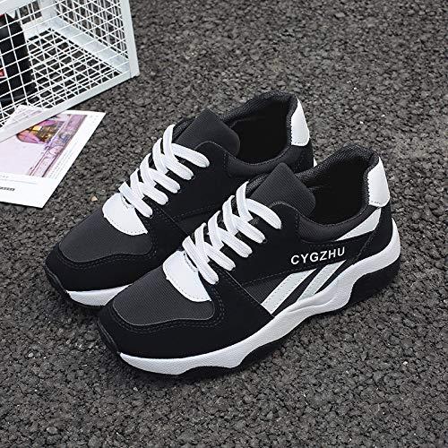 HOESCZS Casual Travel Schuhe Schuhe Dick Soled Mode Wild Fashion Schuhe Travel Sportschuhe e95164