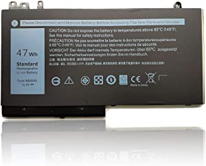 Tandirect New NGGX5 47Wh 4130mAh Replacement Laptop Battery Compatible with Dell Latitude E5250 E5270 E5470 G750 NGGX5 954DF JY8D6 0JY8D6 11.4V