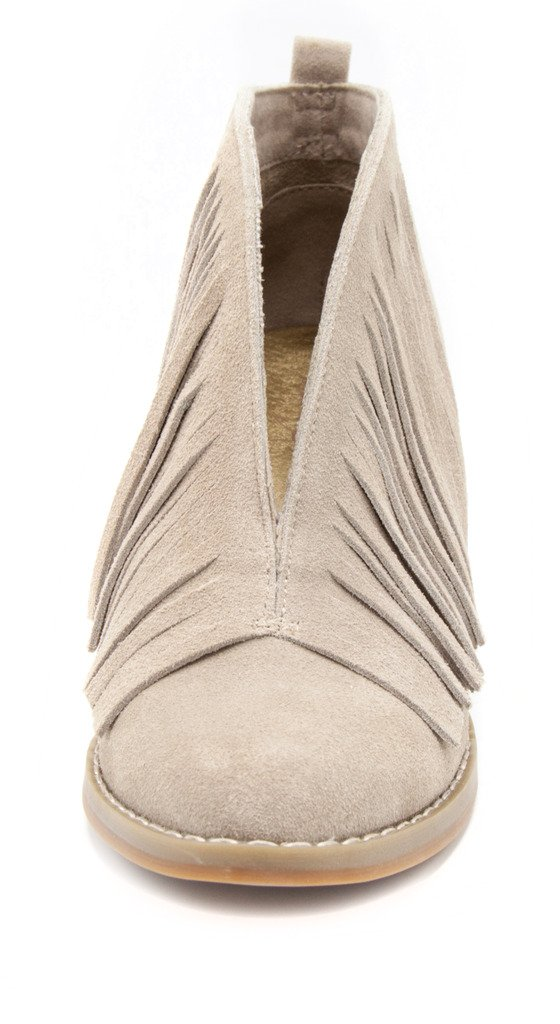 Mari A Women's Traverse Suede Fringe Bootie B(M) Ankle Boot B071YMSWVD 6.5 B(M) Bootie US|Taupe fb9a5c