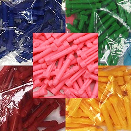 Extra Knitting Loom Pegs, Multicolored 100 pack