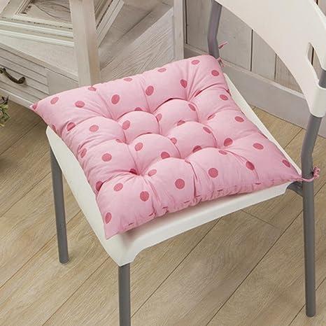 Amazon.com: Cojín de sillas, allywit suave cojín de silla ...