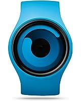 ZIIIRO Men's Z0001WBL Gravity Hardened Mineral Crystal Quartz Analog Blue Watch