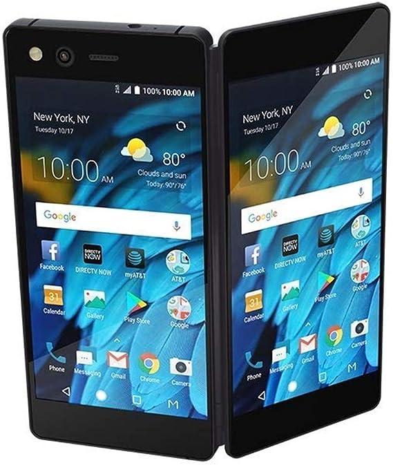 Amazon Com Zte Axon M Z999 64gb Unlocked Gsm Dual Screen Phone W 20mp Camera Black