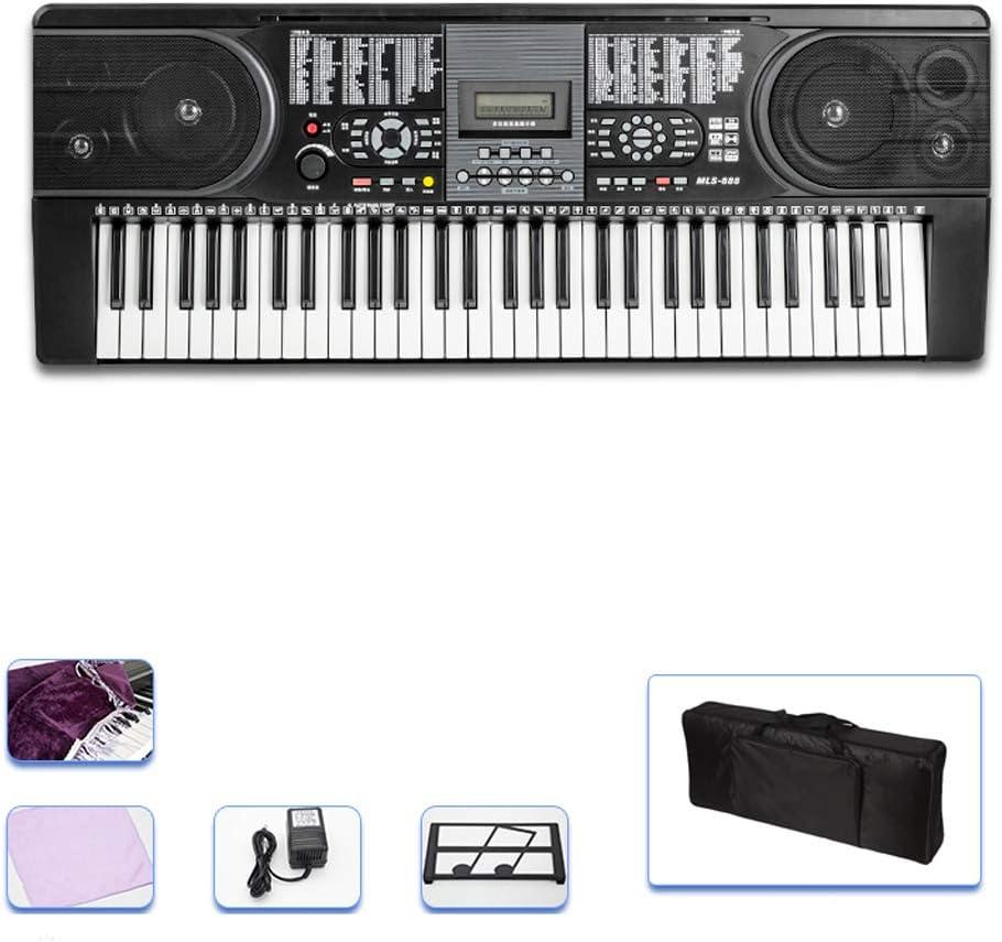 yankai 61 Teclado De Piano Digital, Piano Electrónico para ...