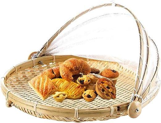 Bloomma cestas de pan, cesta de mimbre hecho a mano para cocina de ...