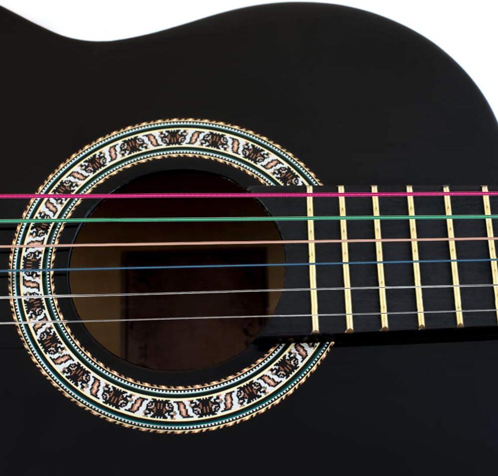 Dadabig 6 Juegos de Cuerdas para Guitarra Acústica Reemplazo de ...