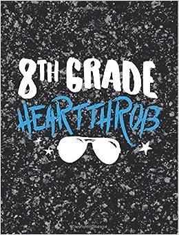 8th Grade Writing Journal Heartthrob Boy 744x969 Composition