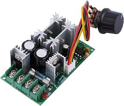 Pwm Dc Motor Geschwindigkeitsregler Fydun 20a Dc 10 60 V Motor Drehzahlregler Controller Schalter Hoch Leistungs Treiber Modul Baumarkt