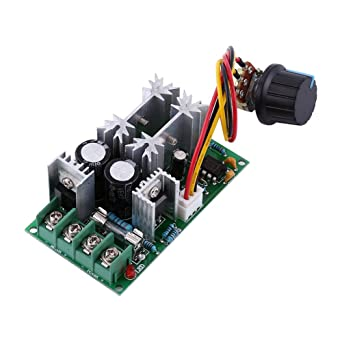 Pwm Speed Controller Dc Motor Digital Display 0 ~ 100% Einstellbare Stick Modul Eingang Max60a 12 V 24 V Elektrische Ausrüstungen & Supplies