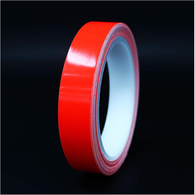 Rojo ne/ón, 15mm 1,08/€//m 10 metros tiras decorativas para coche moto barco modelismo rayas para la artesan/ía manualidades