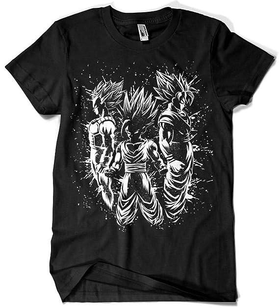Camisetas La Colmena 4025-Dragon Ball - Goku Vegeta Gohan (albertocubatas): Amazon.es: Ropa y accesorios