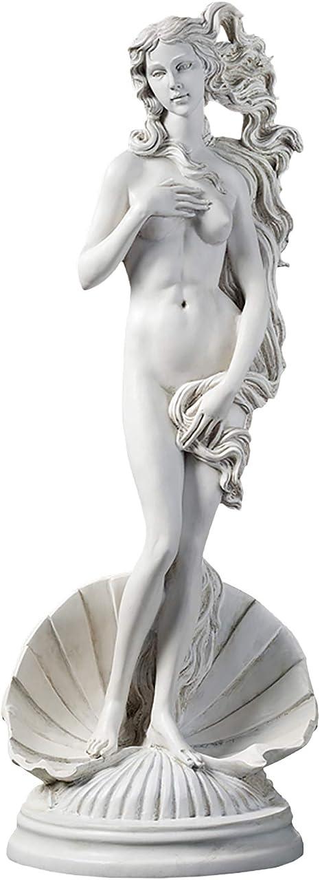 Amazon.com : Design Toscano Birth of Venus Greek Goddess Statue, 23 Inch, Polyresin, Antique Stone : Outdoor Statues : Garden & Outdoor