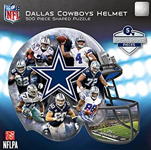 NFL Dallas Cowboys 500 Piece Helmet Puzzle