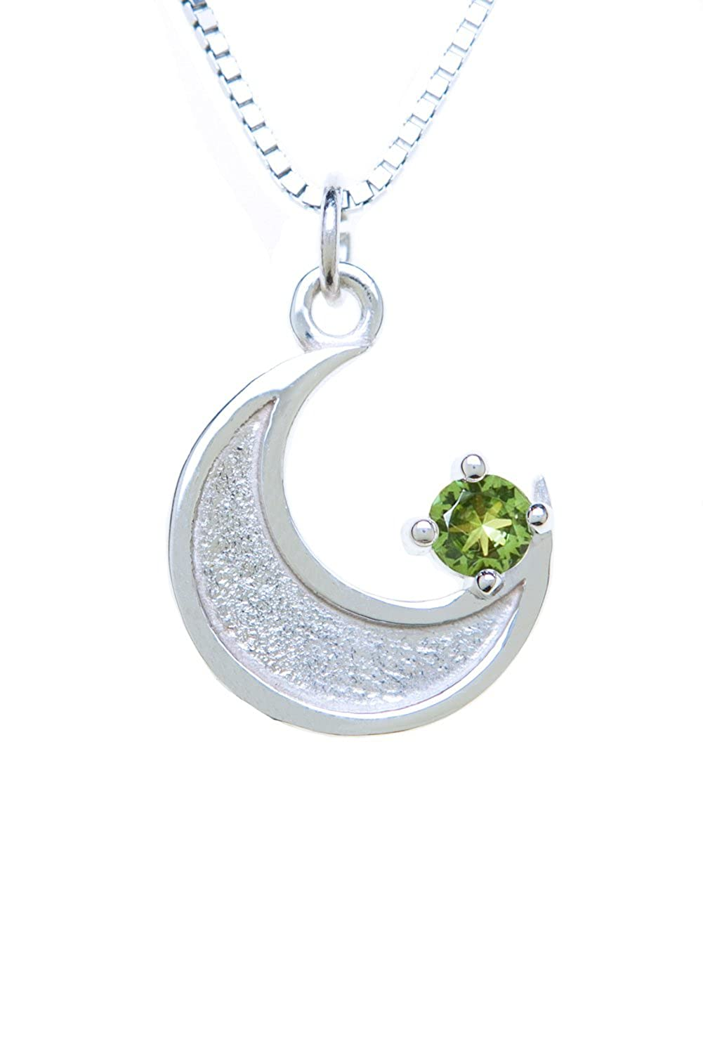 Sterling Silver Pendant Charm Cresent Moon