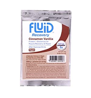 Fluid Recovery Drink Box - 6 Single Serving Packets (Cinnamon Vanilla - VEGAN)