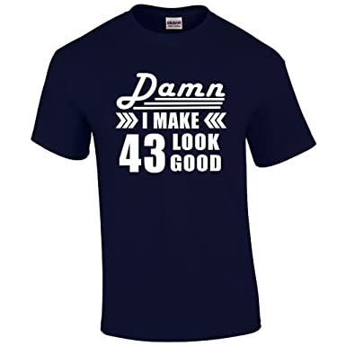43rd Birthday For Men Gift 43 Year Old Man Present T Shirt
