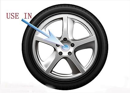 obula (TM) 4pcs coche 75 mm pegatinas rueda centro tapa de buje para pegatinas