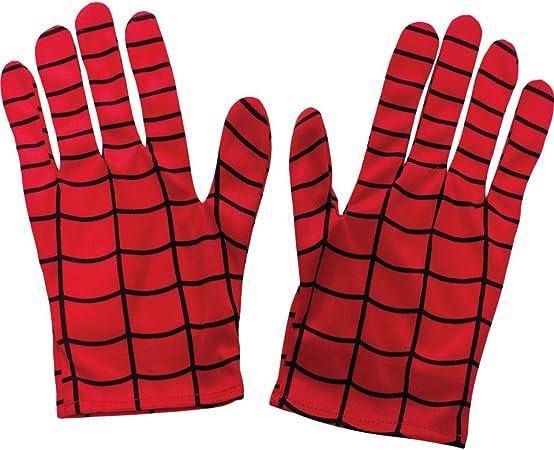 Oferta amazon: Spiderman - Guantes para disfraz de niño, talla Única (Rubie's 35631)