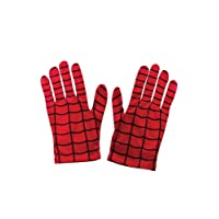 Gants de Costume Spiderman Officiels pour Enfants Rubie's –Taille Unique, Rouge