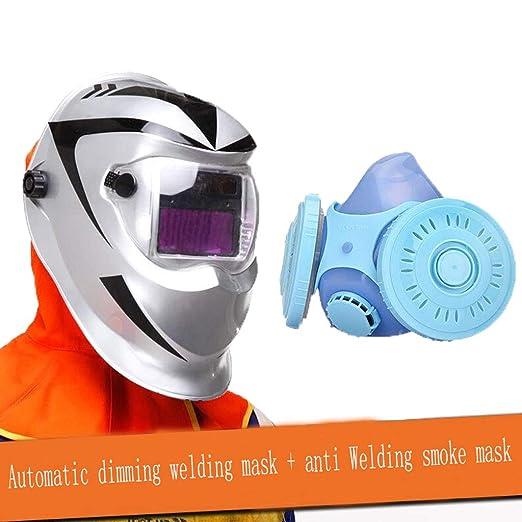 Máscara de soldadura de atenuación automática Cabeza de ...