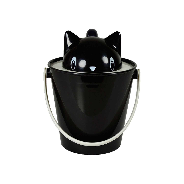 United Pets Crick Boîte pour Croquette pour Chien Noir SG0101 - BLK