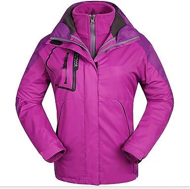 g-luckly para mujer chaqueta al aire libre escalada senderismo esquí nieve impermeable con capucha abrigo morado 07 – 384 – 1