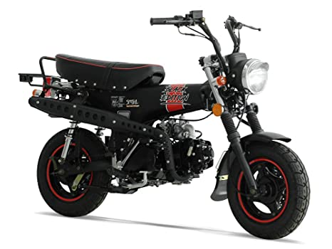Mini Moto – DAX 50 – Black Edition – SkyTeam – color negro ...