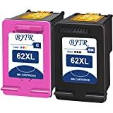 BJTR Remanufactured Ink Cartridge Replacement for HP 62XL 62XL, Works for HP Envy 5540 5640 5660 7644 7645 OfficeJet 5740 804