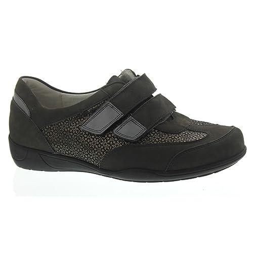 Waldläufer - Mocasines para Mujer, Color Gris, Talla 42.5 EU: Amazon.es: Zapatos y complementos