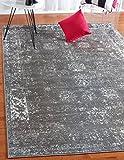Unique Loom Sofia Collection Dark Gray 9 x 12 Area