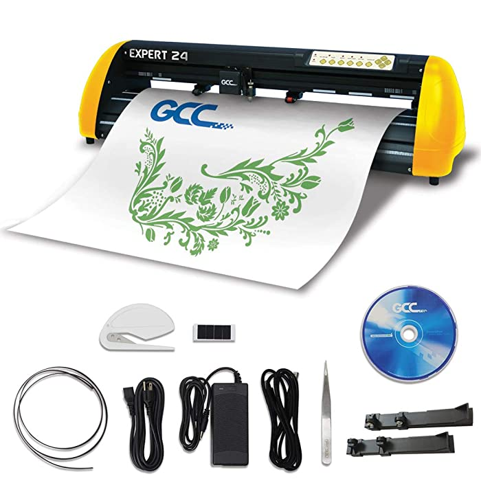 Best Vinyl Cutter For Home Use: GCC Professional Expert II Vinyl Cutter