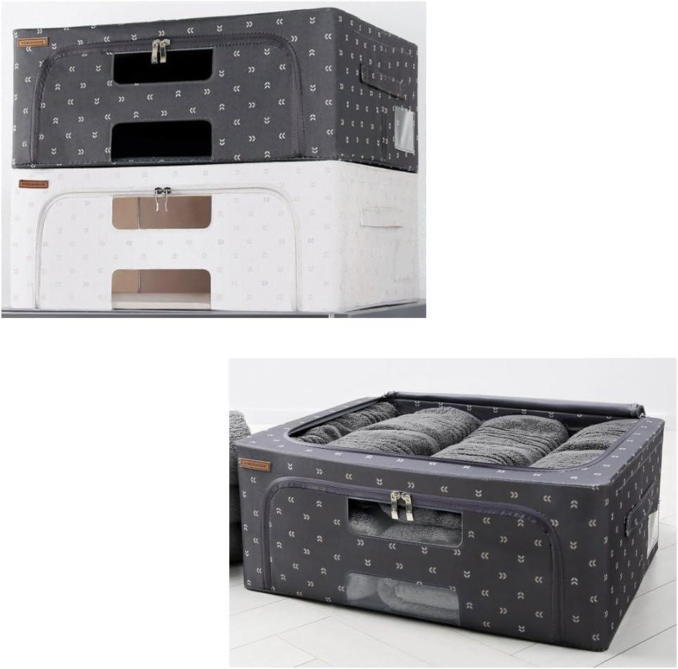 40L square Versatile Folding Movers Post office Design theorem acceptance 4P Living Gray 2, White 2 Home n House Maven Premium Living Box keep Box production