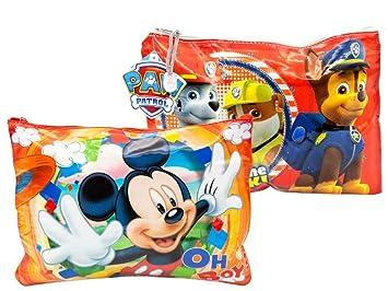 Lote de 6 Estuches-Neceseres Infantiles Disney (Mickey ...