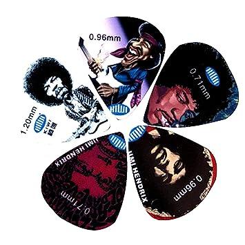 Beito Selección de la Guitarra Creativa Guitarra portátil púa de Guitarra Variedad selección para Guitarra eléctrica, Ukulele, Guitarra acústica 5pcs: ...