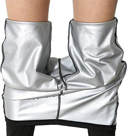 Pantalones Para Adelgazar Neopreno Mujer Deportivos Pantalones Sauna Pantalon De Sudoracion Adelgazar Pantalon Quema Grasa Mallas Termicos De Neopreno Amazon Es Deportes Y Aire Libre