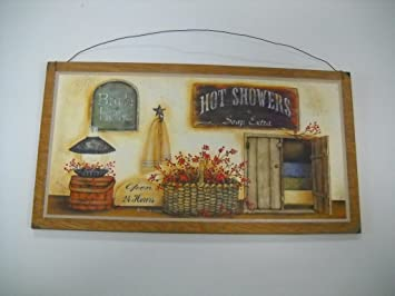 The Little Store Of Home Decor Bath House Open 24 Hours Hot Showers Soap  Extra Country
