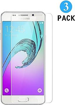 3 Unidades Samsung Galaxy A3 2016 Protector de Pantalla, WEOFUN ...