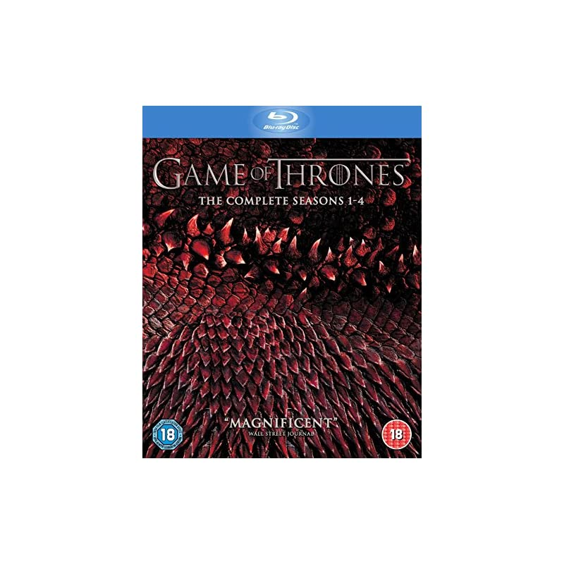 Game of Thrones - Season 1-4 Region Free