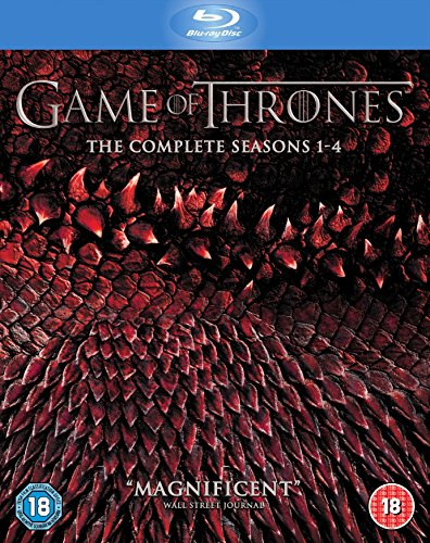 Game of Thrones: The Complete Seasons 1-4 Box Set (Blu-ray) (Best Hbo Tv Series 2019)