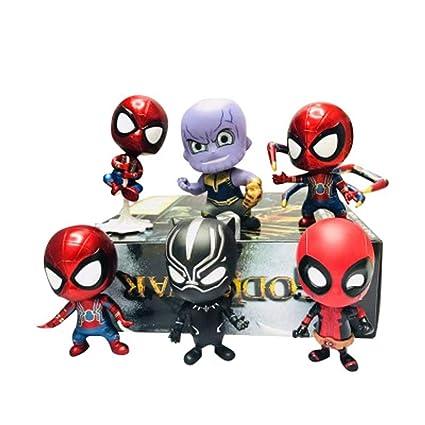 Songdp giocattoli di anime m arvel anime personaggio modello q