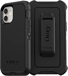 OtterBox Defender Series SCREENLESS Edition Case for iPhone 12 Mini - Black (77-81004)